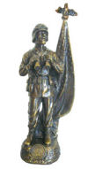Army Soldier Sculpture