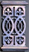 Decorative Balcony Grille Architectural Wall Decor