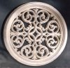 Victorian Round Grille Wall Decor