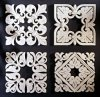 Set of Four Square Grilles Wall Decor