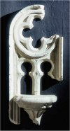 Gothic Shelf Fragment Bracket Architectural Wall Hanging