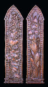 Sarawak Botanical Panels of High-Relief Wall Hanging Set