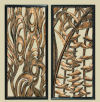 Vertigo Flame Wall Panels Set of Two