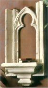 Cathedral Window Base Bracket Frieze