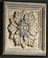 Decorative Square Rosette Wall Hanging