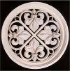 French Fleur de Lis Grill Wall Frieze