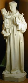 Saint Anthony Life- Size Sculpture 64