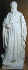 Saint Jude Life-size Sculpture 60