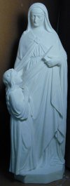 Saint Anne & Child Fiberglass Statue Large