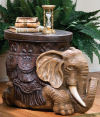 Sultans Elephant Sculptural Side Table
