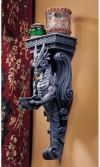Dragons Castle Wall Caryatid Sculpture Bracket