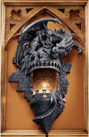 Dragon's Castle Lair Wall Sconce
