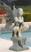 Celtic Fairy Perilous Perch Sculpture