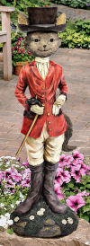 Tally-ho Equestrian Fox Hunt Statue