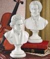 Beethoven & Mozart Bust Pair