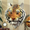 Indochinese Tiger Wall Sculpture