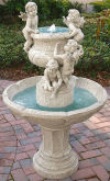 Cherubs At Play Sculptural Fountain
