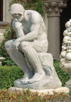 The Thinker by Rodin le Penseur Garden Statue