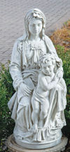 Madonna Of Bruges Statue With Christ Child