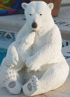 Polar Bear Cub Sculpture