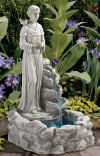 Nature's Prayer Saint Francis Fountain