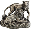 Lion & Lioness Sculpture Pride Of Place Animal Statue