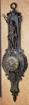 La Liberte Grande Palace Wall Clock Sculpture