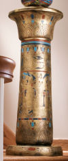 Golden Pedestal Of The Egyptian Kings
