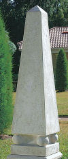 Grand Neoclassical Obelisk Sculpture