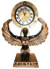 Egyptian Goddess Isis  Large Clock