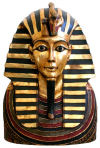 Golden Shroud Of Tutankhamen Bust