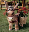 Pancho The Burro Planter Statue Donkey