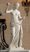 Venus with Apple Arles Sculpture By Praxiteles