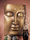 Serene Buddha Large Wall Frieze