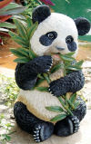 Tian Shan - The Asian Panda Sculpture