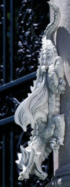 Warsin Dragon Statue Or Wall Sculpture