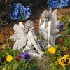 Enchanted Garden Fairies Sculptures Set