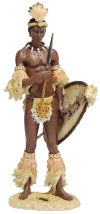 Shaka The Zulu Warrior King Sculpture