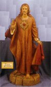 Sacred Heart Of Jesus By Fontanini Statue 40
