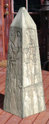 Egyptian Obelisk Sculpture Large