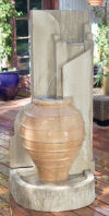 Honey Pot Wall Fountain 56