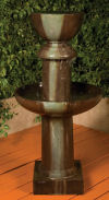 Ion Tall Sleek Garden Fountain 53