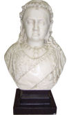 Bust Of Queen Victoria Statue