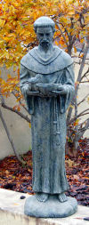 Saint Francis Bird Bath Sculpture 43