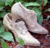 Lady's Antique Shoes Planter Pair