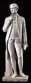 Jefferson Standing Sculpture 14.5