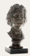 Mark Twain Portrait Bust
