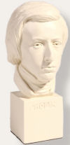 Chopin Frederick Bust 11