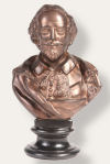 Shakespeare Bust Sculpture