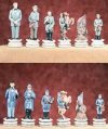 Chess Set: U.s. Civil War